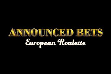 European Roulette Announced Bets